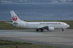 いっとくさんが、関西国際空港で撮影した日本トランスオーシャン航空 737-446の航空フォト(写真)