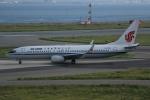 いっとくさんが、関西国際空港で撮影した中国国際航空 737-89Lの航空フォト(写真)
