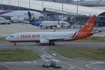 いっとくさんが、関西国際空港で撮影したチェジュ航空 737-8Q8の航空フォト(写真)