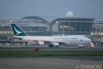 遠森一郎さんが、福岡空港で撮影したキャセイパシフィック航空 747-467F/ER/SCDの航空フォト(写真)