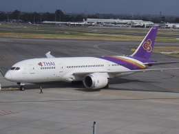 ken1☆MYJさんが、パース空港で撮影したタイ国際航空 787-8 Dreamlinerの航空フォト(写真)