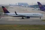 みるぽんたさんが、関西国際空港で撮影したデルタ航空 767-3P6/ERの航空フォト(写真)