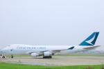 臨時特急7032Mさんが、福岡空港で撮影したキャセイパシフィック航空 747-467F/ER/SCDの航空フォト(写真)