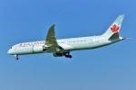 yoshibouさんが、成田国際空港で撮影したエア・カナダ 787-9の航空フォト(写真)