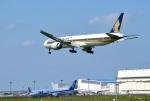 mojioさんが、成田国際空港で撮影したシンガポール航空 777-312/ERの航空フォト(写真)
