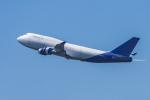 mameshibaさんが、成田国際空港で撮影したウエスタン・グローバル・エアラインズ 747-446(BCF)の航空フォト(写真)