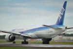 朝倉アイルさんが、宮崎空港で撮影した全日空 777-381/ERの航空フォト(写真)