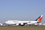 senyoさんが、成田国際空港で撮影したフィリピン航空 747-469Mの航空フォト(写真)