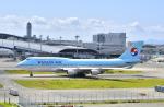 kix-boobyさんが、関西国際空港で撮影した大韓航空 747-4B5の航空フォト(写真)