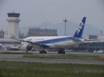 リンダさんが、松山空港で撮影した全日空 777-281/ERの航空フォト(写真)