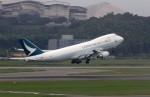 ansett767ksさんが、福岡空港で撮影したキャセイパシフィック航空 747-467F/ER/SCDの航空フォト(写真)
