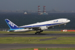 やつはしさんが、羽田空港で撮影した全日空 777-281/ERの航空フォト(写真)