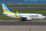 いおりさんが、羽田空港で撮影したAIR DO 737-781の航空フォト(写真)