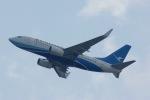 staralliance☆JA712Aさんが、香港国際空港で撮影した厦門航空 737-75Cの航空フォト(写真)