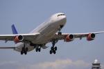 ☆ライダーさんが、成田国際空港で撮影したスカンジナビア航空 A340-313Xの航空フォト(写真)