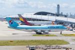 きゅうさんが、関西国際空港で撮影した大韓航空 747-4B5の航空フォト(写真)