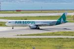 きゅうさんが、関西国際空港で撮影したエアソウル A321-231の航空フォト(写真)