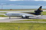 きゅうさんが、関西国際空港で撮影したUPS航空 MD-11Fの航空フォト(写真)