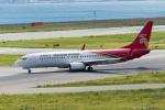 きゅうさんが、関西国際空港で撮影した深圳航空 737-87Lの航空フォト(写真)