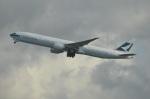 amagoさんが、香港国際空港で撮影したキャセイパシフィック航空 777-367/ERの航空フォト(写真)