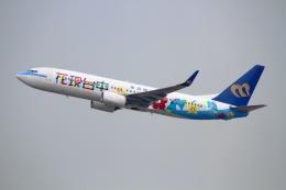 on-chanさんが、香港国際空港で撮影したマンダリン航空 737-8SHの航空フォト(写真)