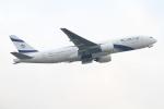 on-chanさんが、香港国際空港で撮影したエル・アル航空 777-258/ERの航空フォト(写真)