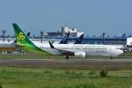 よしポンさんが、成田国際空港で撮影した春秋航空日本 737-86Nの航空フォト(写真)