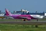 よしポンさんが、成田国際空港で撮影したピーチ A320-214の航空フォト(写真)