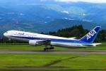 Kuuさんが、鹿児島空港で撮影した全日空 767-381の航空フォト(写真)