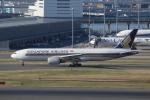 やつはしさんが、羽田空港で撮影したシンガポール航空 777-212/ERの航空フォト(写真)