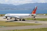 キイロイトリ1005fさんが、関西国際空港で撮影したフィリピン航空 A340-313の航空フォト(写真)