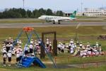 Ken-Tさんが、高松空港で撮影した春秋航空 A320-214の航空フォト(写真)