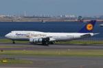 トリトンブルーSHIROさんが、羽田空港で撮影したルフトハンザドイツ航空 747-830の航空フォト(写真)
