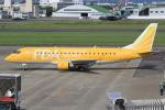 キイロイトリ1005fさんが、名古屋飛行場で撮影したフジドリームエアラインズ ERJ-170-200 (ERJ-175STD)の航空フォト(写真)
