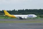 pringlesさんが、成田国際空港で撮影したポーラーエアカーゴ 747-87UF/SCDの航空フォト(写真)