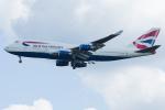 Tomo-Papaさんが、ワシントン・ダレス国際空港で撮影したブリティッシュ・エアウェイズ 747-436の航空フォト(写真)