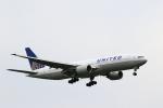 こだしさんが、成田国際空港で撮影したユナイテッド航空 777-222の航空フォト(写真)