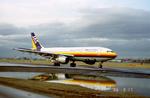 このえさんが、名古屋飛行場で撮影した日本エアシステム A300B2K-3Cの航空フォト(写真)