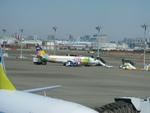 あるべくさんが、羽田空港で撮影したスカイネットアジア航空 737-4M0の航空フォト(写真)