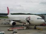ラムダΛさんが、秋田空港で撮影した日本航空 A300B4-622Rの航空フォト(写真)