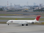 誘喜さんが、伊丹空港で撮影した日本航空 MD-81 (DC-9-81)の航空フォト(写真)