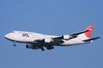 げんこつさんが、羽田空港で撮影した日本航空 747-446の航空フォト(写真)