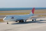 はみんぐばーどさんが、中部国際空港で撮影した日本航空 747-346の航空フォト(写真)