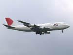 アイスコーヒーさんが、成田国際空港で撮影した日本航空 747-346の航空フォト(写真)
