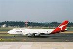 立山一郎さんが、成田国際空港で撮影したカンタス航空 747-338の航空フォト(写真)
