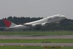 hiko_chunenさんが、成田国際空港で撮影した日本航空 747-446(BCF)の航空フォト(写真)