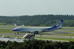 mikuさんが、成田国際空港で撮影した日本貨物航空 747-281F/SCDの航空フォト(写真)
