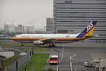 たぁさんが、羽田空港で撮影した日本エアシステム A300B2K-3Cの航空フォト(写真)