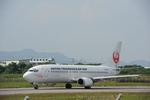 なないろさんが、石垣空港で撮影した日本トランスオーシャン航空 737-4Q3の航空フォト(写真)