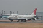 マスターMさんが、成田国際空港で撮影した日本航空 747-446の航空フォト(写真)